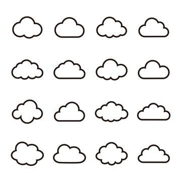 雲 くもり クラウド アイコン