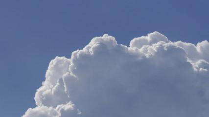 Blauer Himmel Wolke