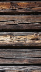 Verwittertes Holz Hütte