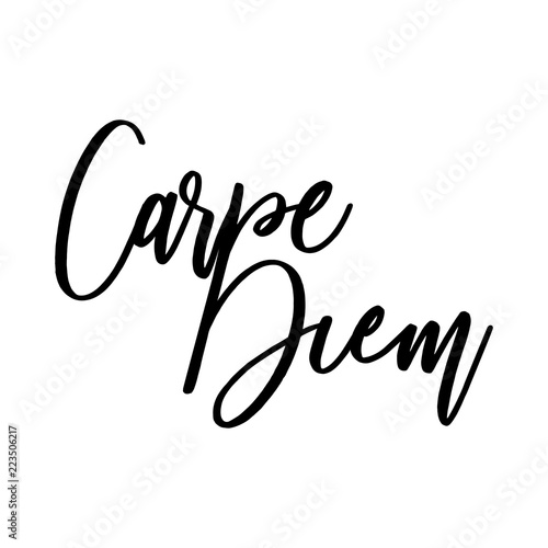 Carpe Diem Beautiful Message It Can Be Used For Website Design T