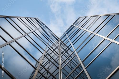 Immeuble bureau travail tour building gratte ciel banque business