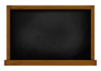 Template for your design. the school Board is black. vector illustration.