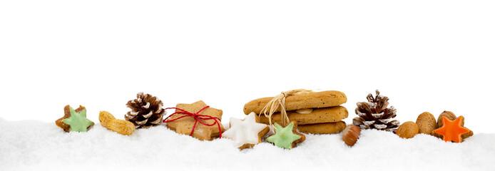 Weihnachten Gebäck Freisteller