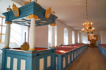 Interior of Turku Castle in Finland