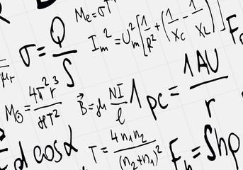 Math concept - Mathematical integral formulas