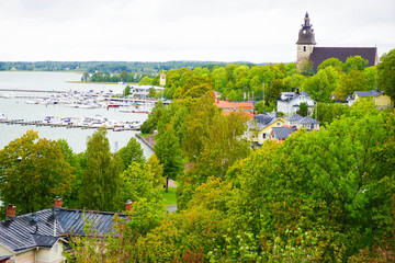Streets of Naantali is a town in south-western Finland, known as one of the most important tourist centres in Finland