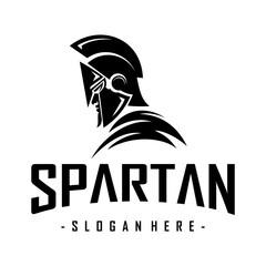 Spartan Warrior Logo Inspiration Vector
