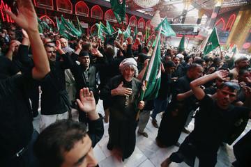 Shi'ite Muslims commemorate Ashura in Karbala