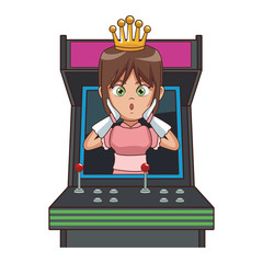 Princess videogame cartoon