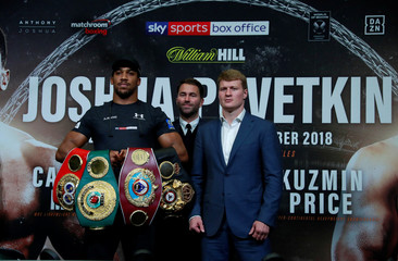 Anthony Joshua & Alexander Povetkin Press Conference