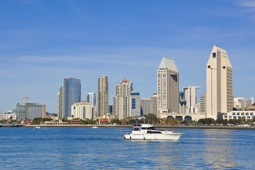 Papiers peints Chicago Boating in a beautiful day in San Diego, California