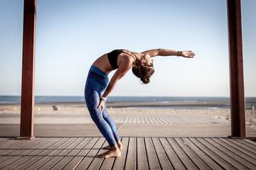 Yoga girl Spain Andalucia