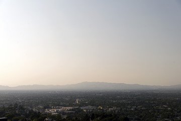 A view of cityscape of Los Angeles, California