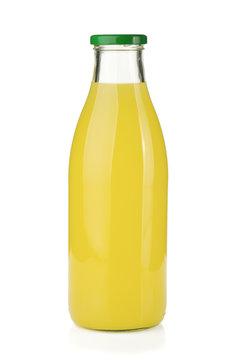 Lemon juice bottle