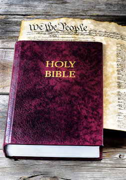 Holy Bible and America.