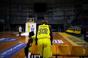 A Picture and its Story: A migrant's journey: Congo to a Greek hoop dream
