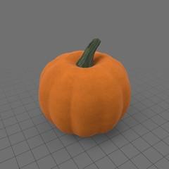 Stylized pumpkin