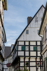 Timbered house / frame house in Germany - Hattingen