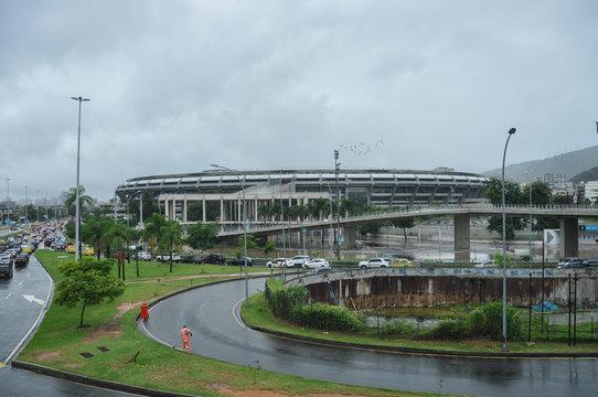 Stadium Maracana in Rio