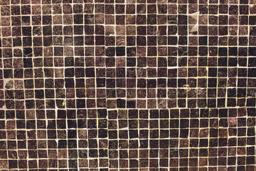 Black fabric texture. Textile background. stone old small