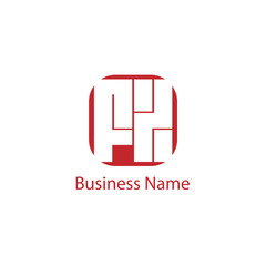 Initial Letter FX Logo Template Design