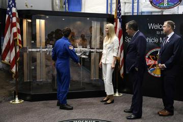 White House Senior Advisor Trump, U.S. Senator Cruz (R-TX) and NASA Administrator Bridenstine tour the Johnson Space Center in Houston