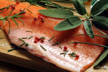 Trucha Filetto di Trota iridea salmonata Pstrąg ft81093009 Pastrve Salmon Forellen سلمون مرقط Trout Salmone