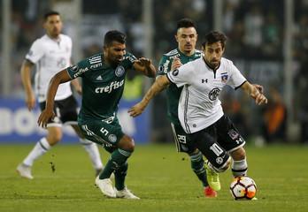 Copa Libertadores - Chile's Colo Colo v Brazil's Palmeiras
