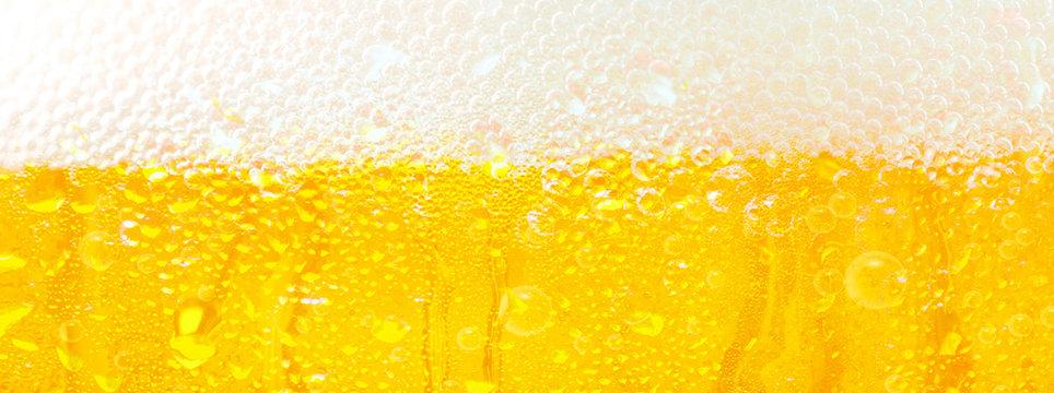 冷えた生ビール