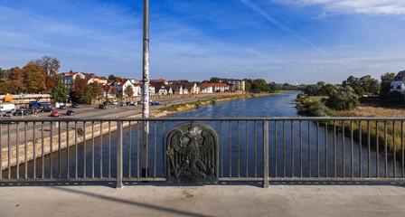 Weser Minden Fischerstadt Panorma