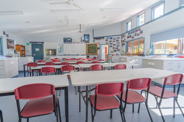 School Science classroom