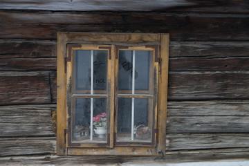 Rustikales Fenster