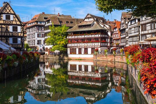 Petit France in Strassburg/Frankreich