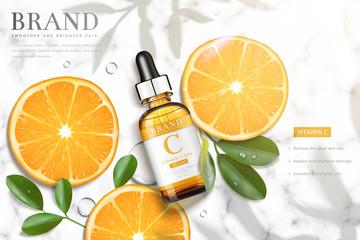 Vitamin C essence ads