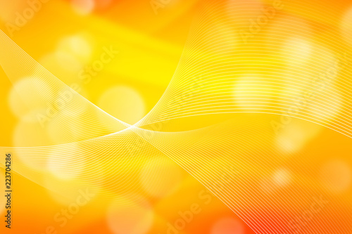 Abstract Orange Light Yellow Wallpaper Design Color Ilration