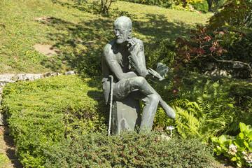 Grabmal für James Joyce, Friedhof Fluntern, Zürich Schweiz