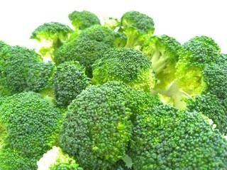 Fresh, raw broccoli - a portion of health and vitamins