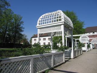 Foto op Plexiglas Singapore Gartenpavillon Stadtgarten Ettlingen