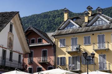 Santa Maria Maggiore, historic town in Val Vigezzo, italy