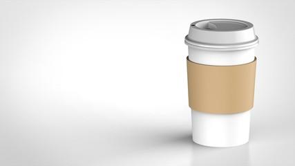 コーヒーカップ ロゴなしスリーブ 右