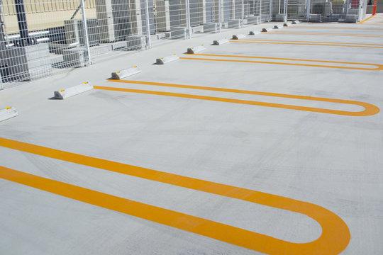 屋上の駐車場