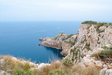 Breathtaking landscapes along Costa Brava in Catalonia Spain