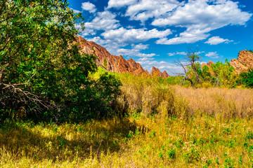 Beautiful Fall Red Rock Hike in Colorado