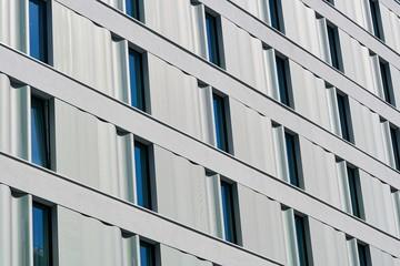Fassade eines Wohnhauses in der Innenstadt von Berlin