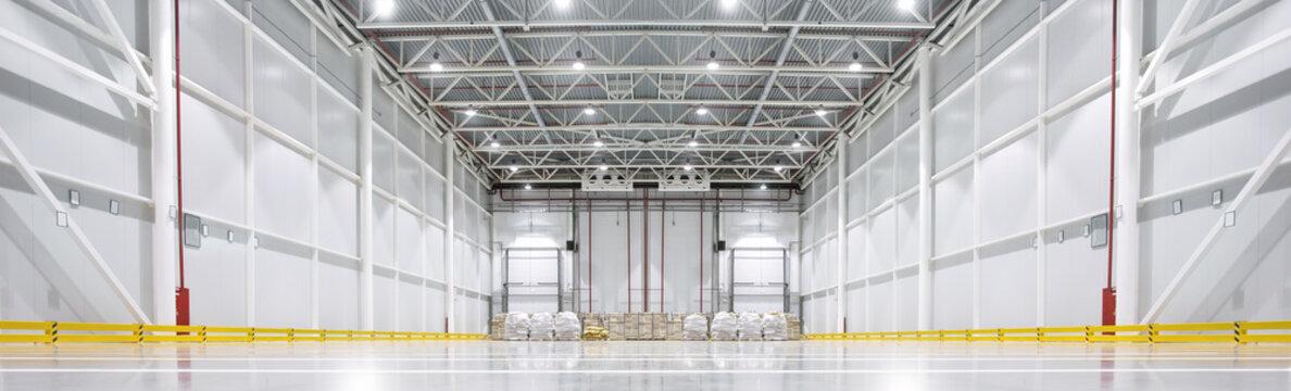 Huge cold storage warehouse.