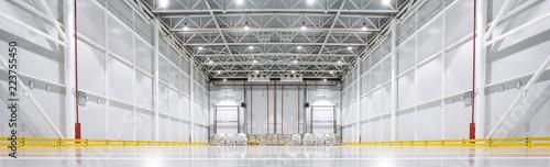 Huge cold storage warehouse
