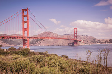 San Francisco Golden Gate Bridge, USA