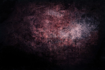 Dirty grunge black red scratched background
