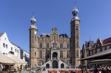 Rathaus und Markt in Venlo