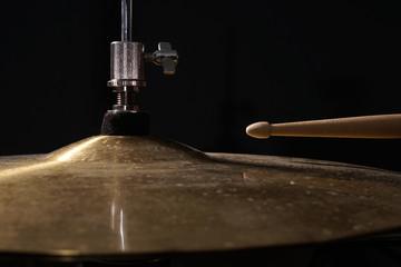 Hi Hat mit Drumstick